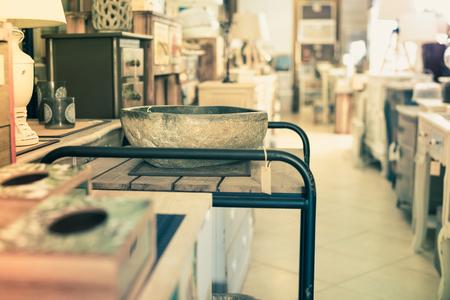 Quality designer furniture presented in the modern furniture store