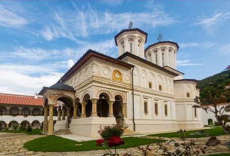 Image of Monastery Horezu in Romania outdoor.