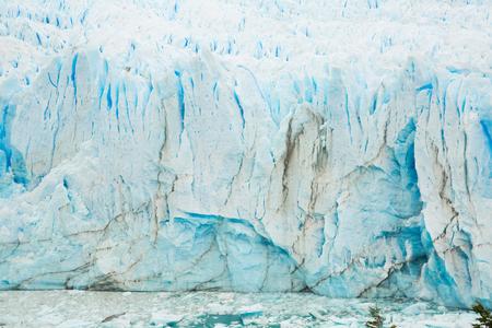General view of the Perito Moreno Glacier in Los Glaciares National Park in Argentina