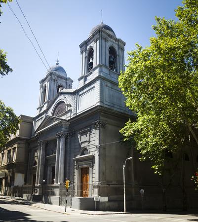 Catholic temple Santa Corazon in capital of Uruguay. Montevideo, Uruguay, South America Foto de archivo - 115938145