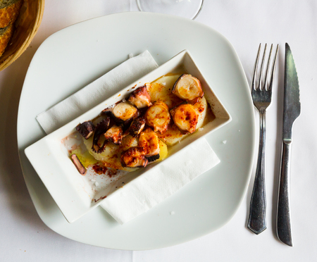Pulpo a la Gallega (Galician octopus) – dish of Spanish cuisine