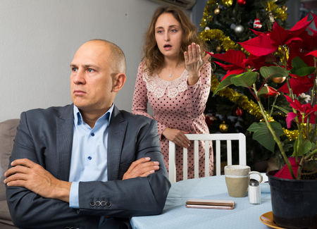 Family conflict in the New Year holidays