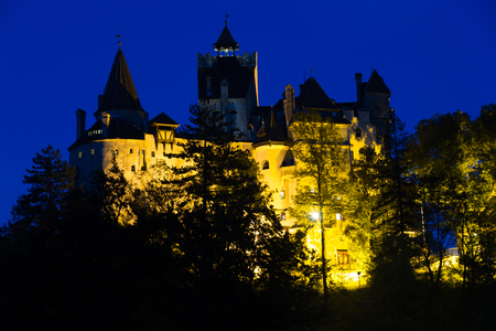 Bran castle known as Draculas castle, Brasov, Romania Editöryel