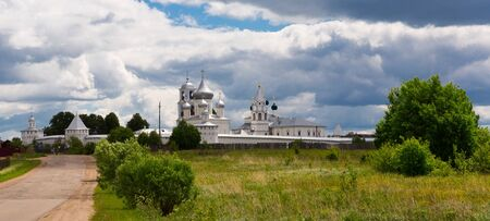 Image of Nikitskiy monastery in Pereslavl Zalessky at summer day,  Russia