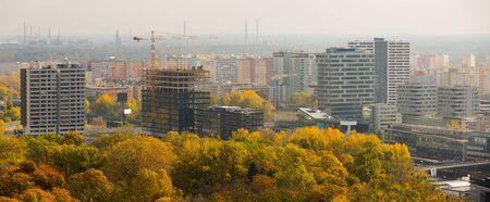 Bratislava cityscape with a modern apartment buildings, Slovakia