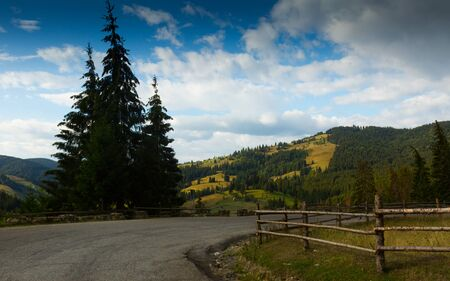 Karpaty is picturesque place on Bucovina in Romania.