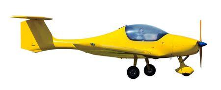 Sport aircraft isolated on white background Reklamní fotografie