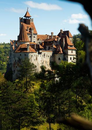 Misterioso castillo de Bran, también llamado castillo de Drácula. Brasov, Rumania