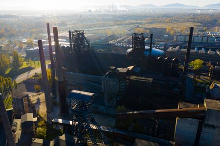 View of closed metallurgical plant in Vitkovice (Ostrava), Czech Republic