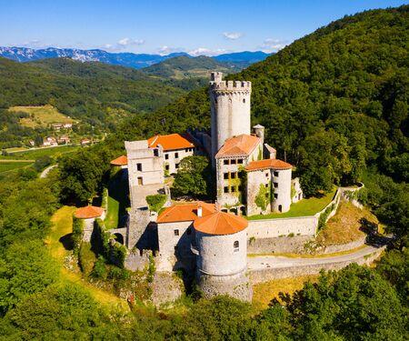 Castle Branik (Rihemberk). Nova Gorica. Slovenia