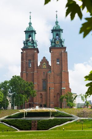 Cathedral Basilica of Assumption of Blessed Virgin Mary in Polish city of Gniezno