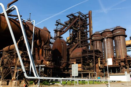 Closed metallurgical plant in Vitkovice (Ostrava). Czech Republic