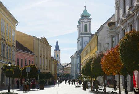 center of Kaposvar, Hungary