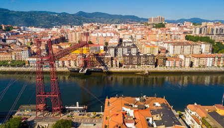Vizcaya suspension Bridge in Spain