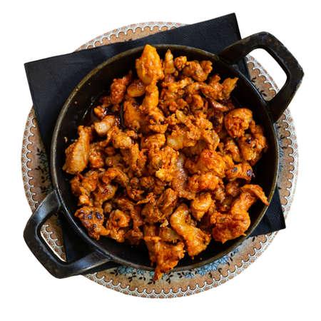 Picadillo Castellano de la Matanza, spanish cuisine Stock fotó - 155449723