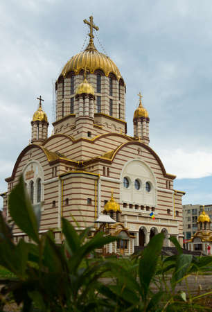Cathedral in Fagaras is arhitectural landmark