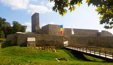 Severin Fortress in Drobeta Turnu-Severin