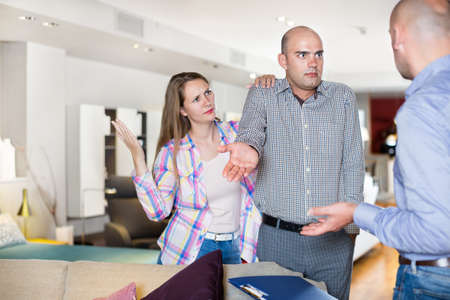 Customers revealing discontent with furniture seller