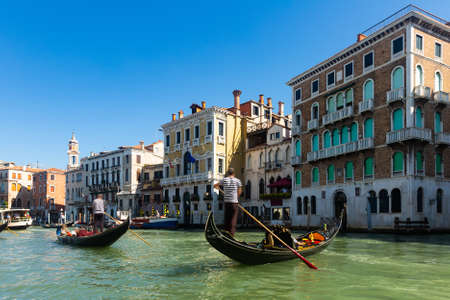 Venice cityscape with Grand canal