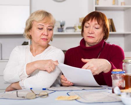 pensioners females with utilities bills