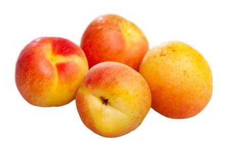 Apricots fruit. Vitamin fruits