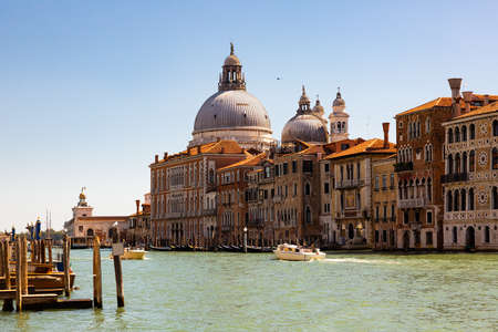 Picturesque view of Venice Grand Canal