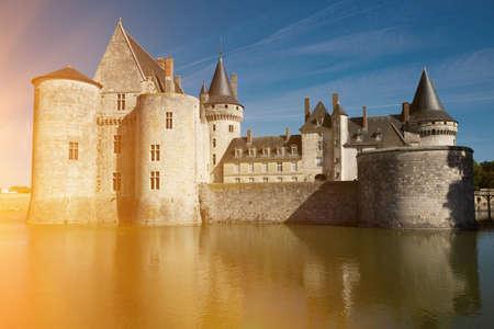Medieval castle Chateau de Sully-sur-Loire