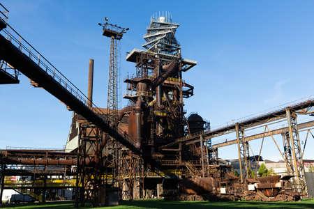 Closed metallurgical plant in Vitkovice.