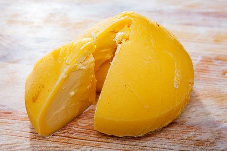 Galician semi-hard cheese Tetilla
