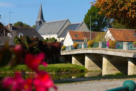 Village in France Zdjęcie Seryjne