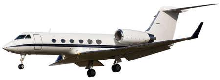 Small passenger plane isolated on white background Reklamní fotografie