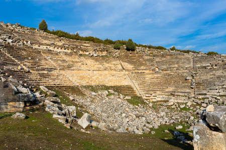 Ruins of antique theater of Kibyra, Turkey