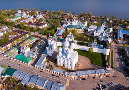 Aerial view of Rostov Kremlin