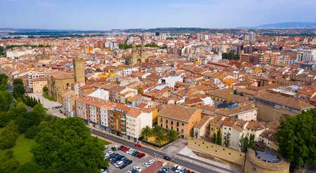 Aerial view of Logrono city, Spain Zdjęcie Seryjne