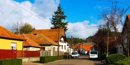 Traditional village of Hungary