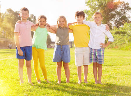 Group photo of children