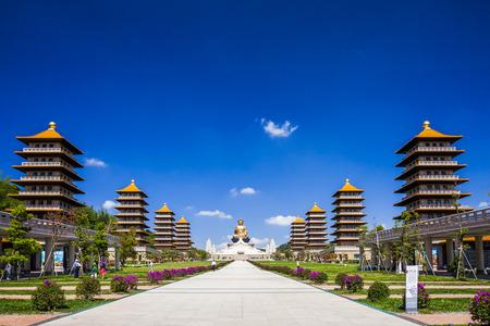 The Fo Guang Shan Buddha Museum in Kaohsiung, Taiwan
