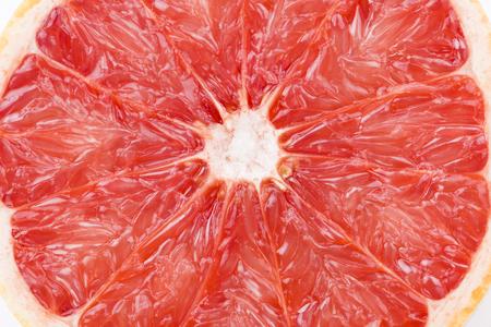 fresh grapefruit on white background Stock Photo