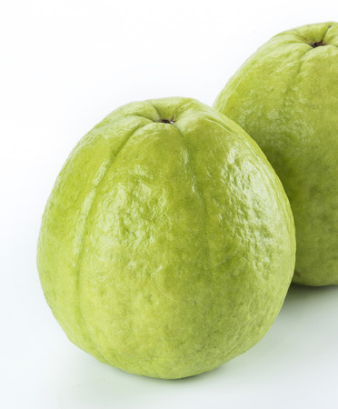 Big Guava isolated on white background