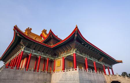 National concert hall in Taipei, Taiwan.