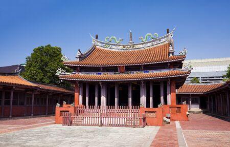 Confucius Temple in Tainan, Taiwan
