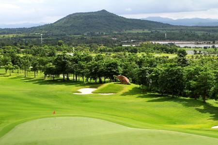 Green Golf course photo