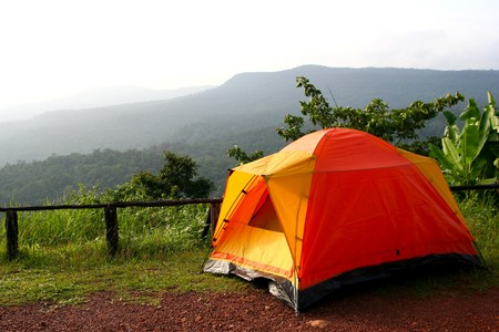 Camping in nation park