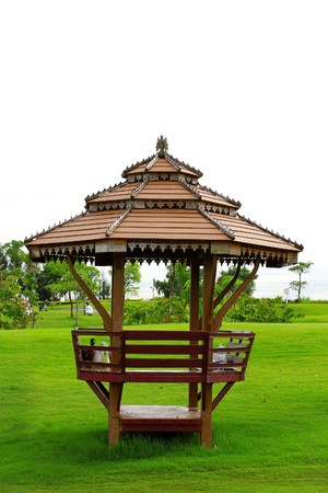 pavilion: Thai pavilion Stock Photo