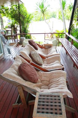 garden furniture  Stock Photo