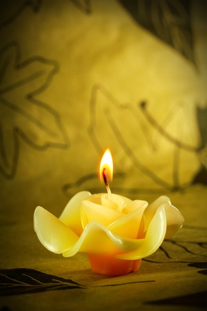 unwind: Herb candle