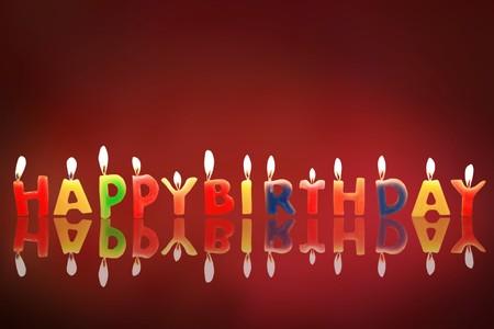 Birthday candles  photo