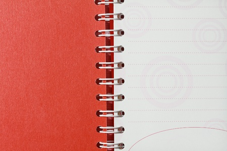 Recycle paper notebook  photo