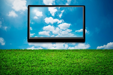 3D TV Stock Photo - 10380401