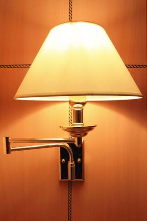 Classic wall lamp photo